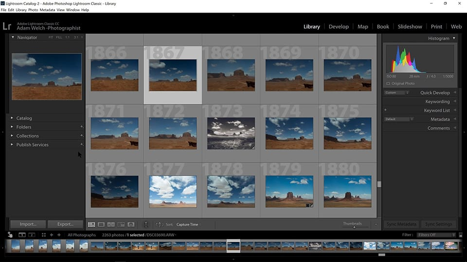 Walkthrough & Overview of Lightroom Classic