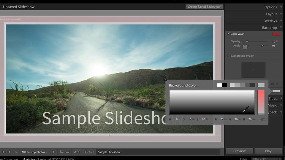 How to Use the Slideshow Module