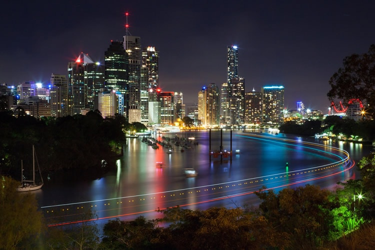 Light Trails by Andrew Sutherland