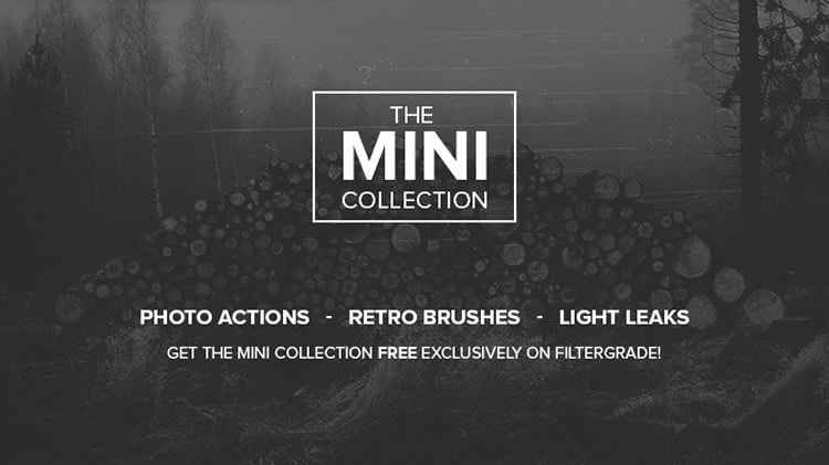 The Mini Collection – Free Photoshop Actions