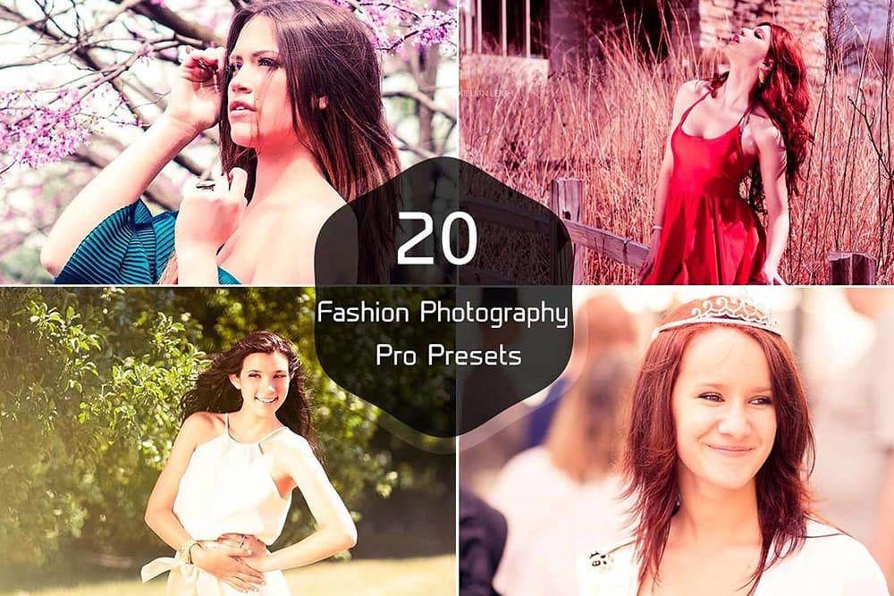 20 Free Fashion Lightroom Presets