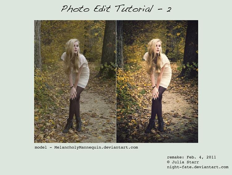 Photo Edit Tutorial 2