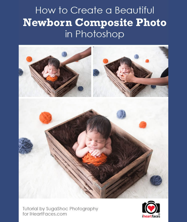 How to Create a Newborn Composite Photo in Photoshop