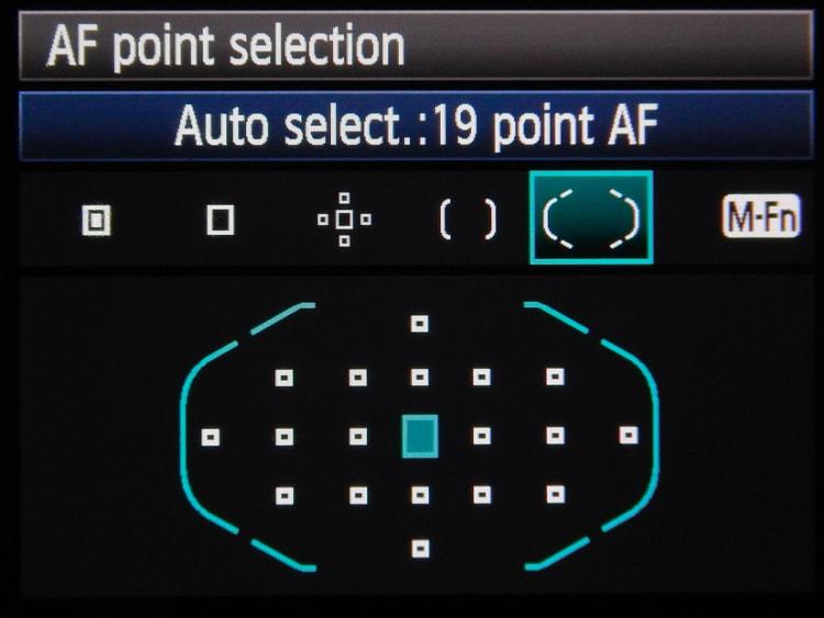 Autofocus - Automatic Points
