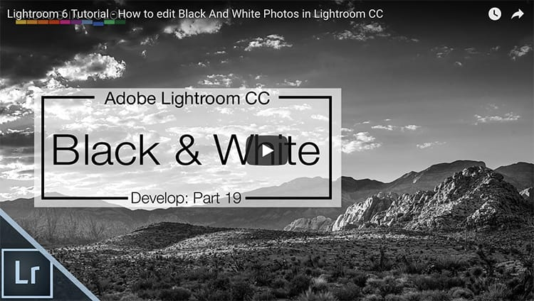 How to edit Black And White Photos in Lightroom CC