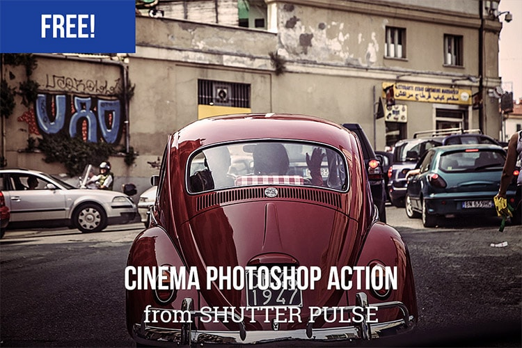 Cinema Photoshop Action