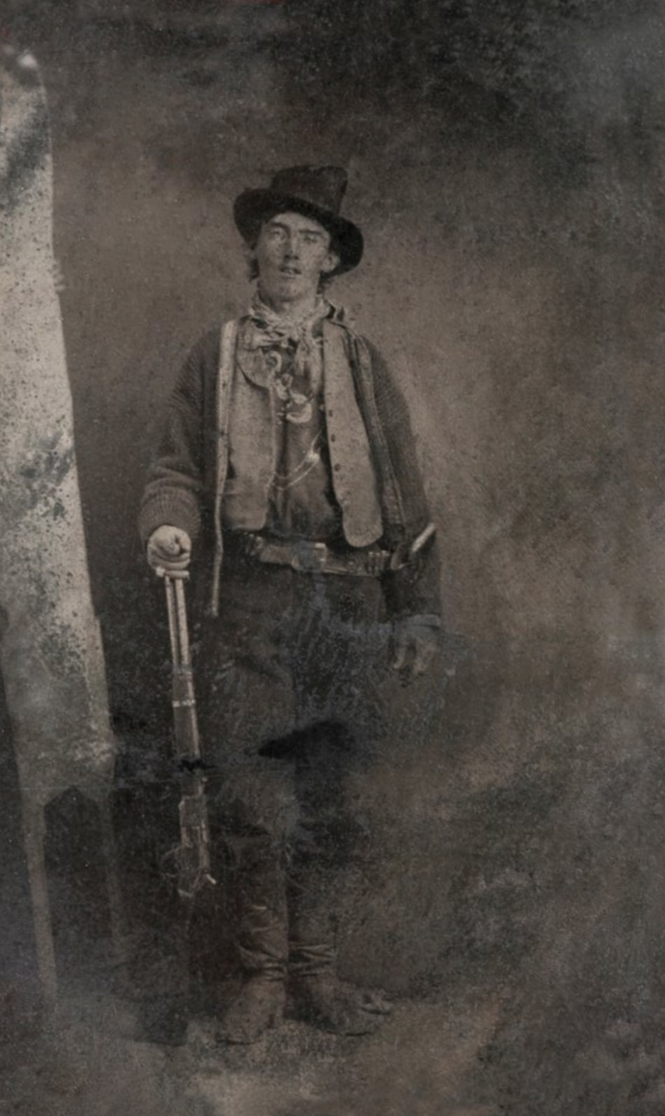 Billy The Kid in Tintype