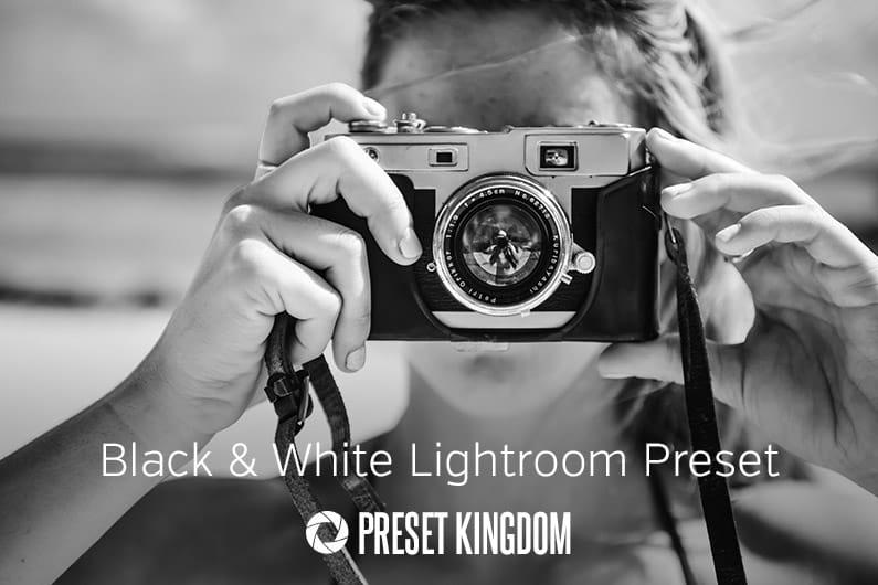 Free High Contrast Black & White Lightroom Preset
