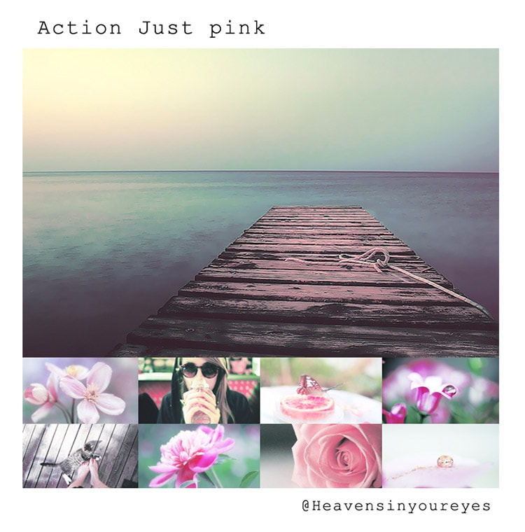 Just Pink Photoshop Action