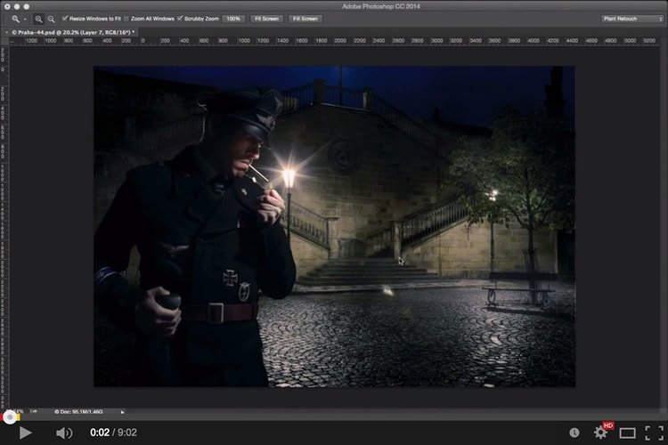 Lighting It Up – Photoshop Video Tutorial