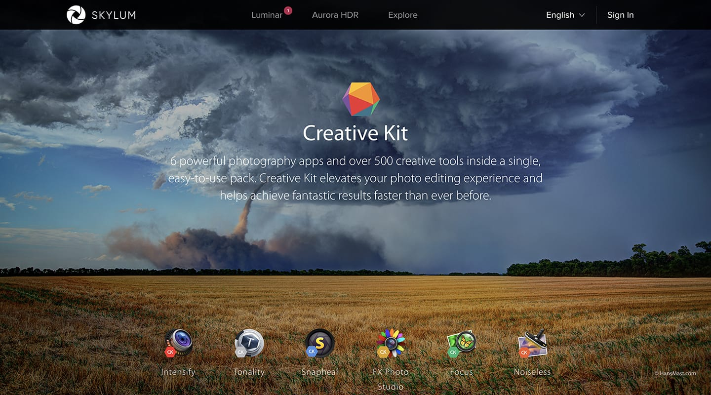 Skylum Creative Kit - Lightroom Classic Plugins for Mac