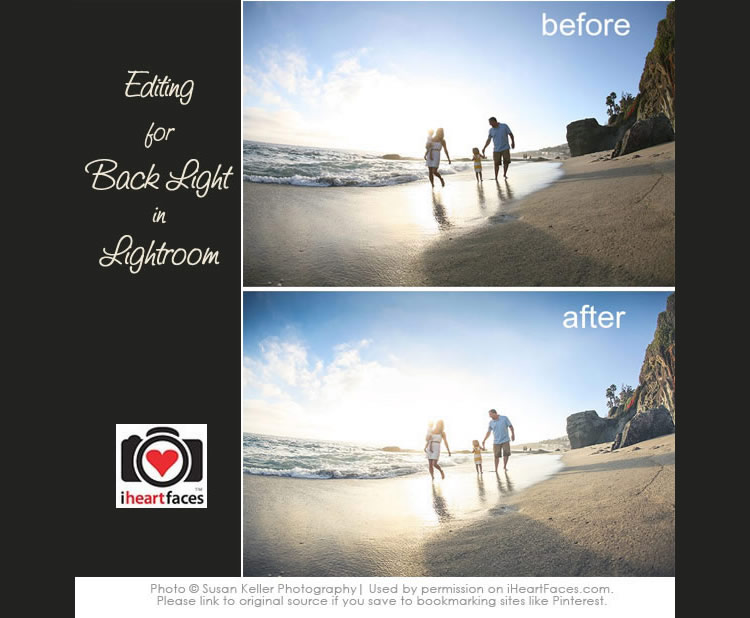 Editing a Backlit Photo in Lightroom