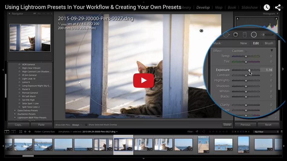 Using Lightroom Presets In Your Workflow & Creating Your Own