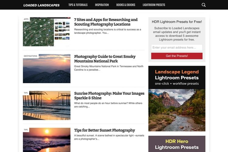 Loaded Landscapes