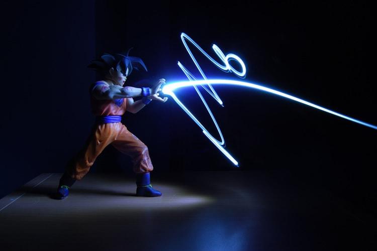 Light Graffiti - Goku