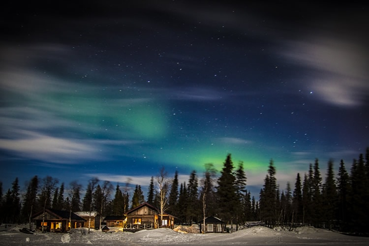 Trace of a Northern Light
