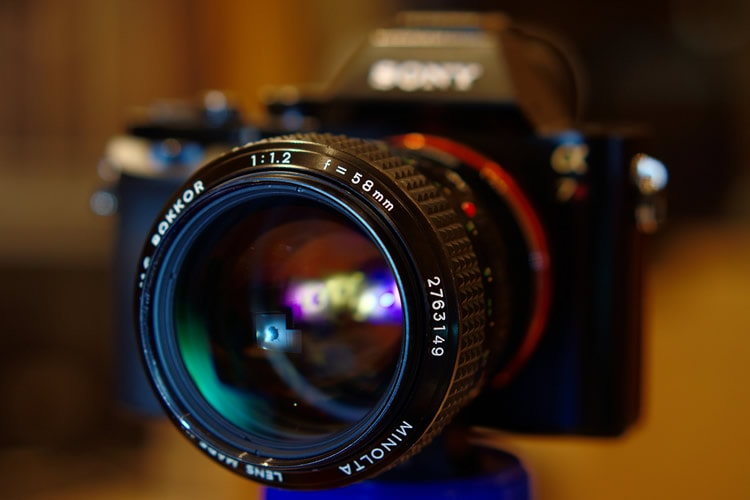 Minolta MC Rokkor 58mm f1.2