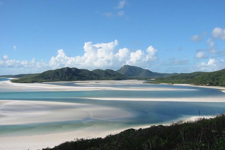 Whitehaven Beach, Central Queensland, Australia