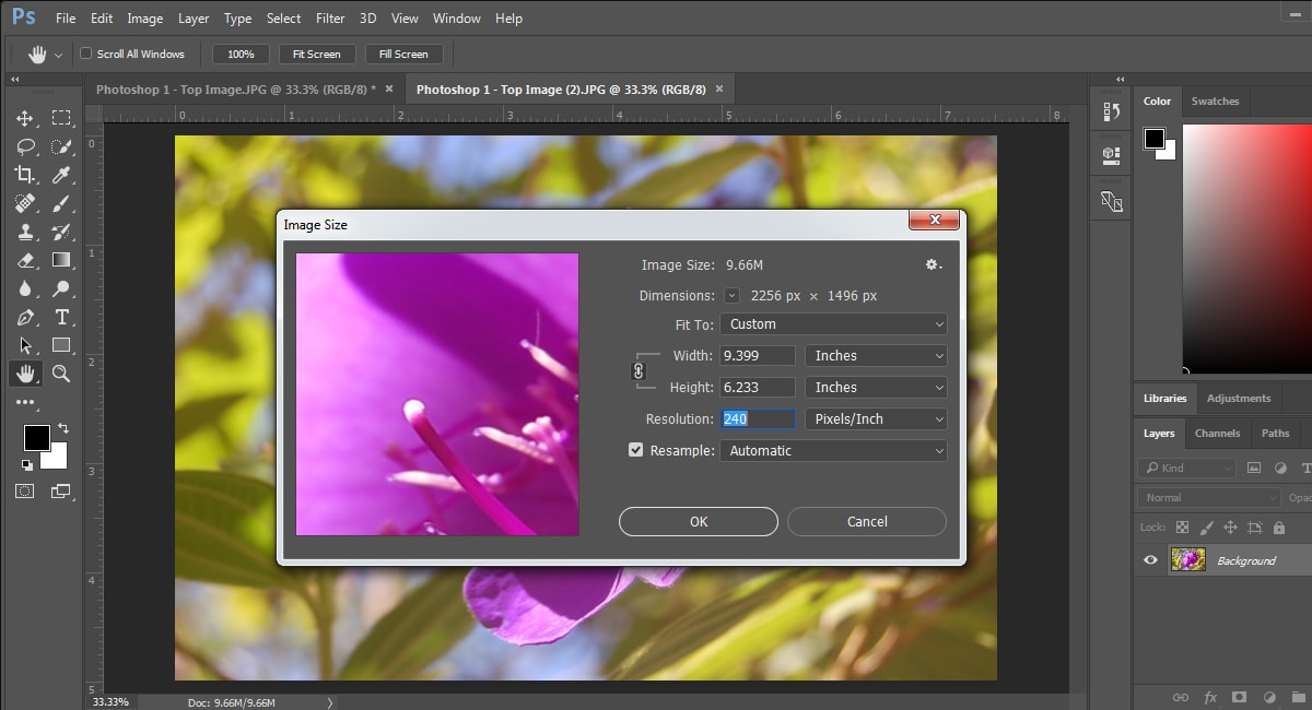 ensuring quality when printing photos from photoshop contrastly