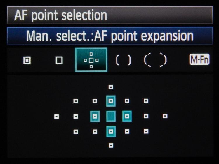 Autofocus - Point Expansion