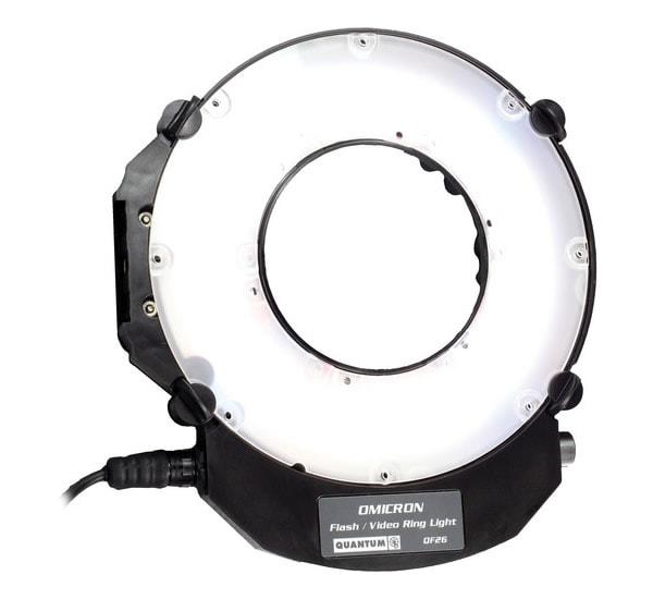 Quantum OM3 Ring Flash
