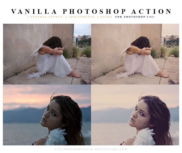 Vanilla Photoshop Actions