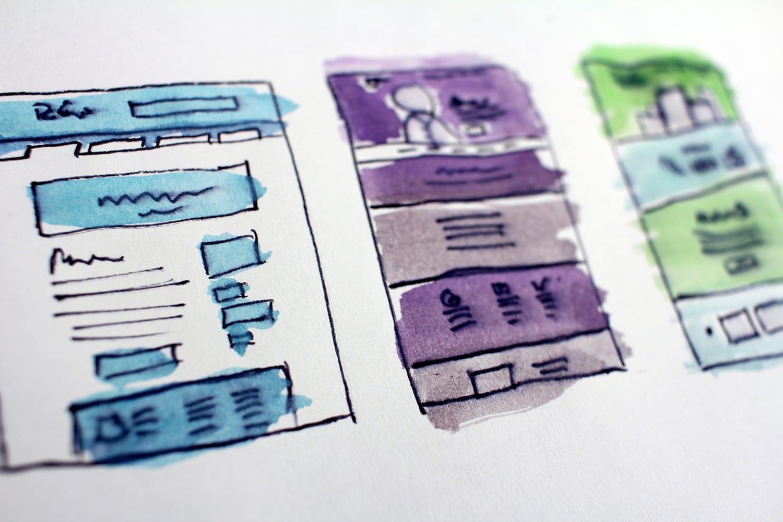 Website Design Wireframe